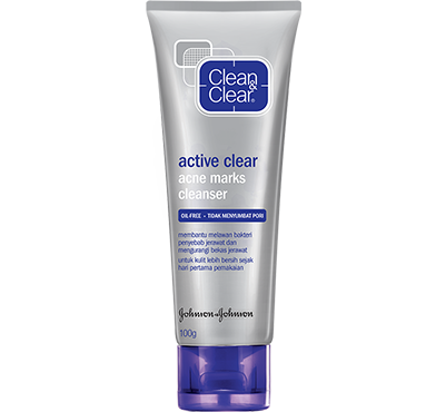 CLEAN & CLEAR® Acne Marks Cleanser
