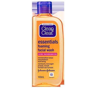 CLEAN & CLEAR® FOAMING Facial Wash